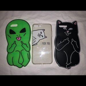 Accessories - 14 iPhone 7&8 plus case lot!!!